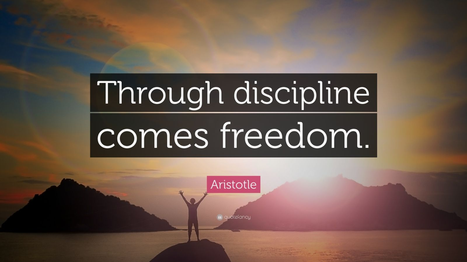 Persistence Quotes Wallpapers Aristotle Quote Through Discipline Comes Freedom 33