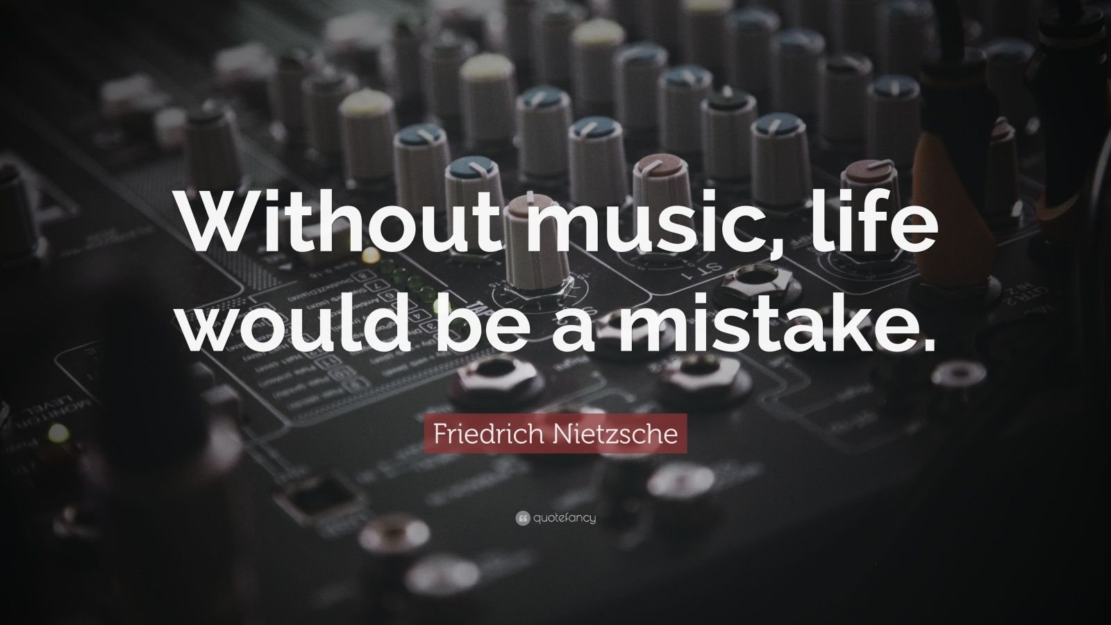 Brainy Funny Quotes Wallpapers Friedrich Nietzsche Quote Without Music Life Would Be A