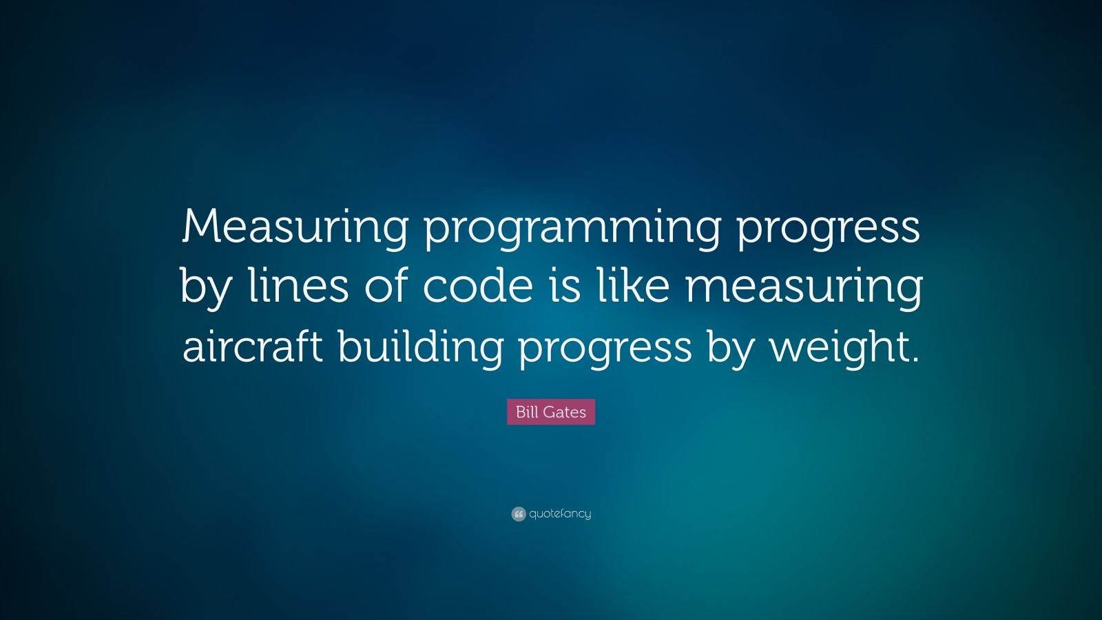 Startup Quotes Wallpaper Bill Gates Quote Measuring Programming Progress By Lines