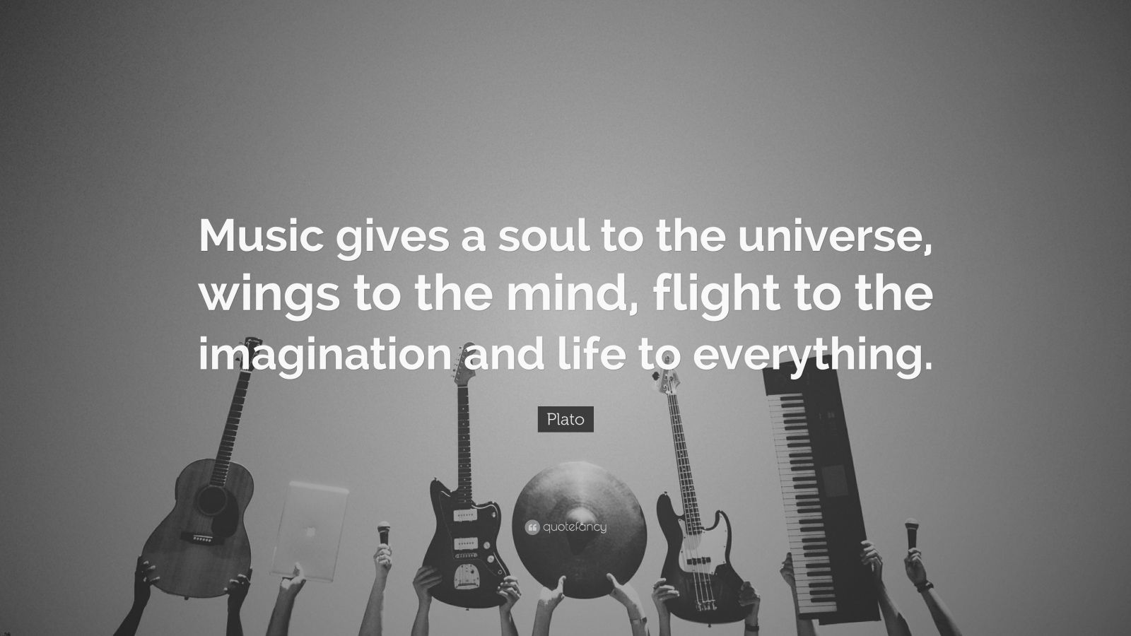 My Life My Friendship Quotes Wallpapers Plato Quote Music Gives A Soul To The Universe Wings To