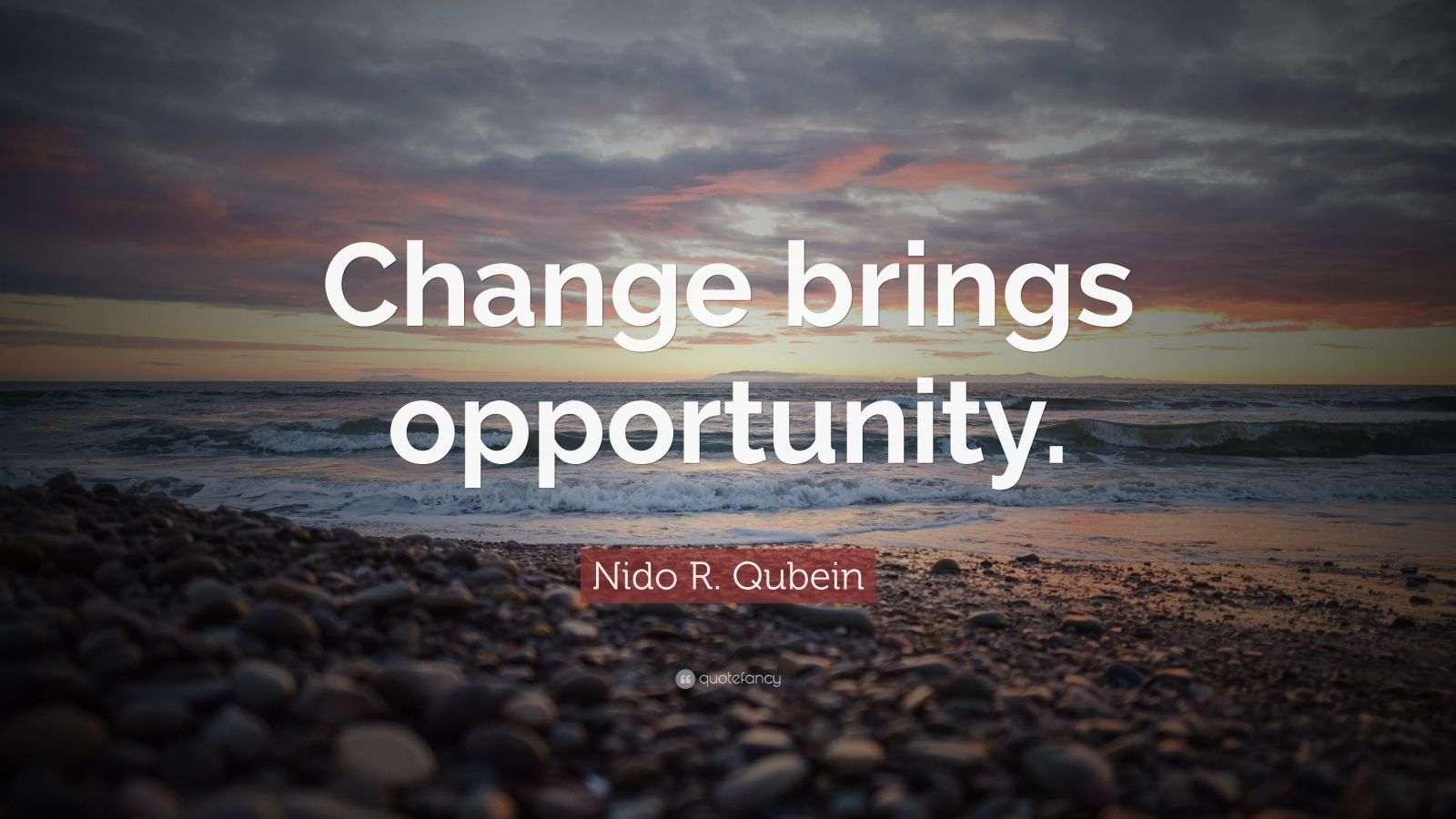 Steve Jobs Motivational Quotes Wallpaper Nido R Qubein Quote Change Brings Opportunity 18