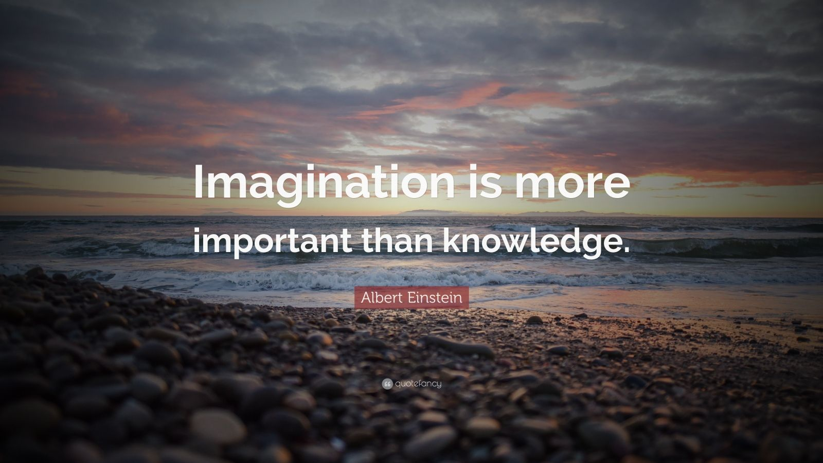 Desktop Wallpaper Motivational Quotes Albert Einstein Quote Imagination Is More Important Than