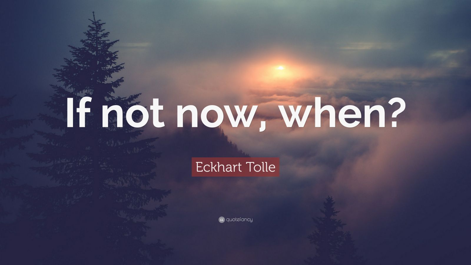 Love Inspiring Quotes Wallpaper Eckhart Tolle Quote If Not Now When 23 Wallpapers
