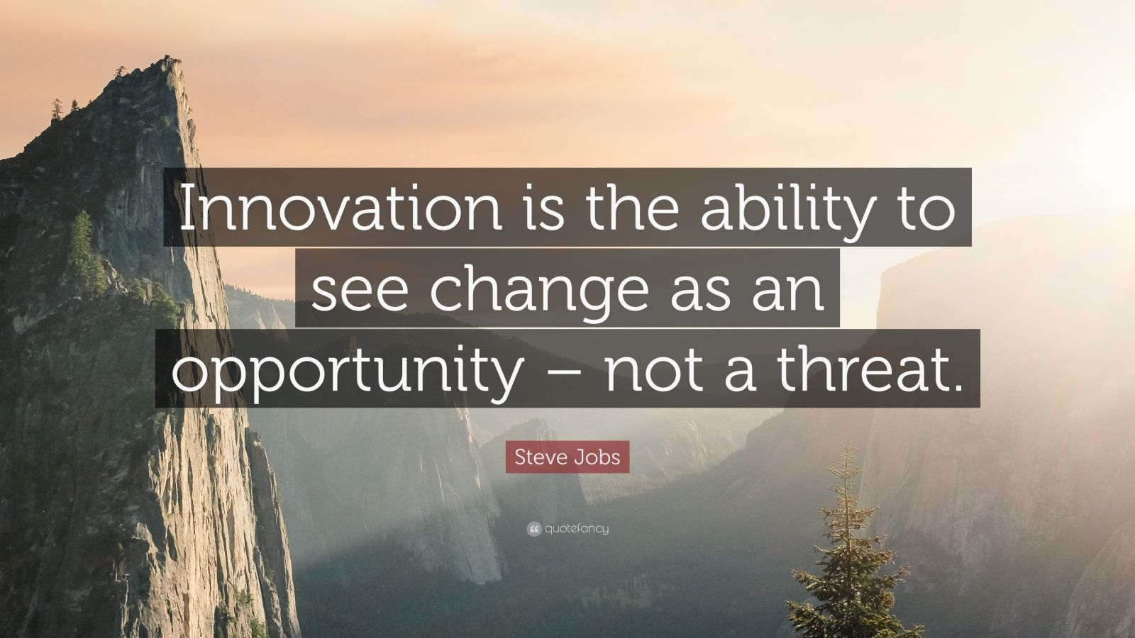 Steve Jobs Motivational Quotes Wallpaper Steve Jobs Quote Innovation Is The Ability To See Change