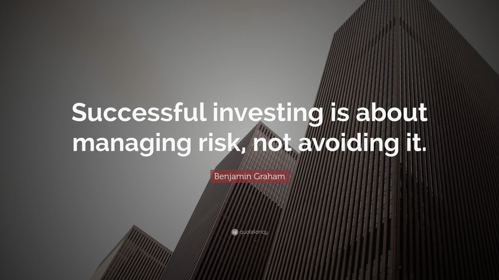 Drake Quotes Wallpaper Hd Benjamin Graham Quote Successful Investing Is About