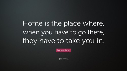 Medium Of Quotes About Home