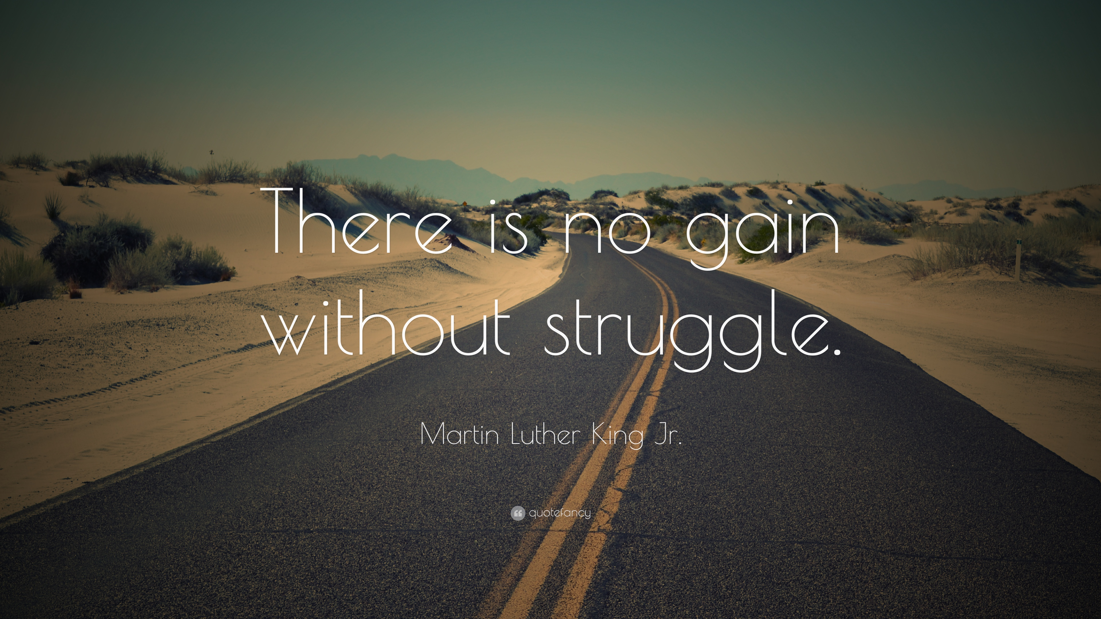 Leadership Quotes Wallpapers Hd Martin Luther King Jr Quote There Is No Gain Without