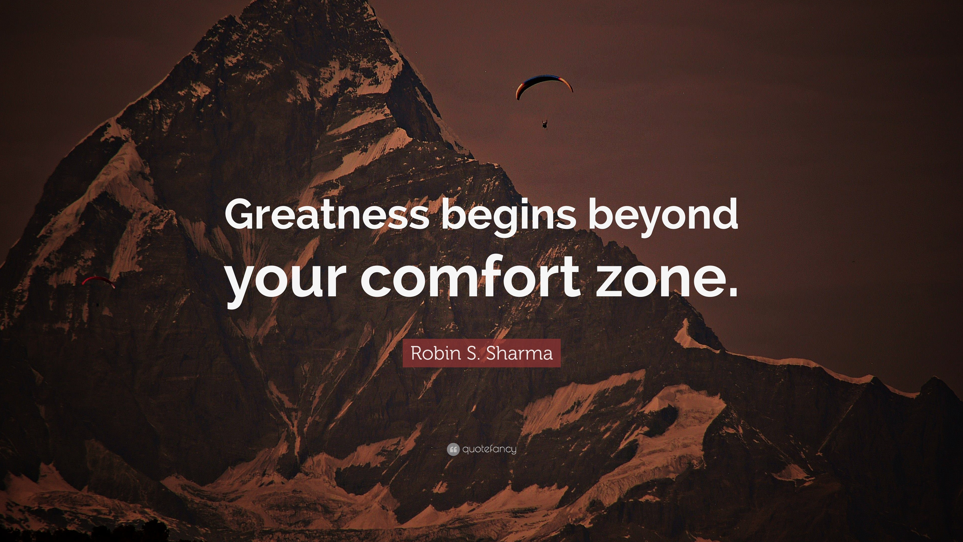 Nice Wallpapers With Inspiring Quotes Robin S Sharma Quote Greatness Begins Beyond Your