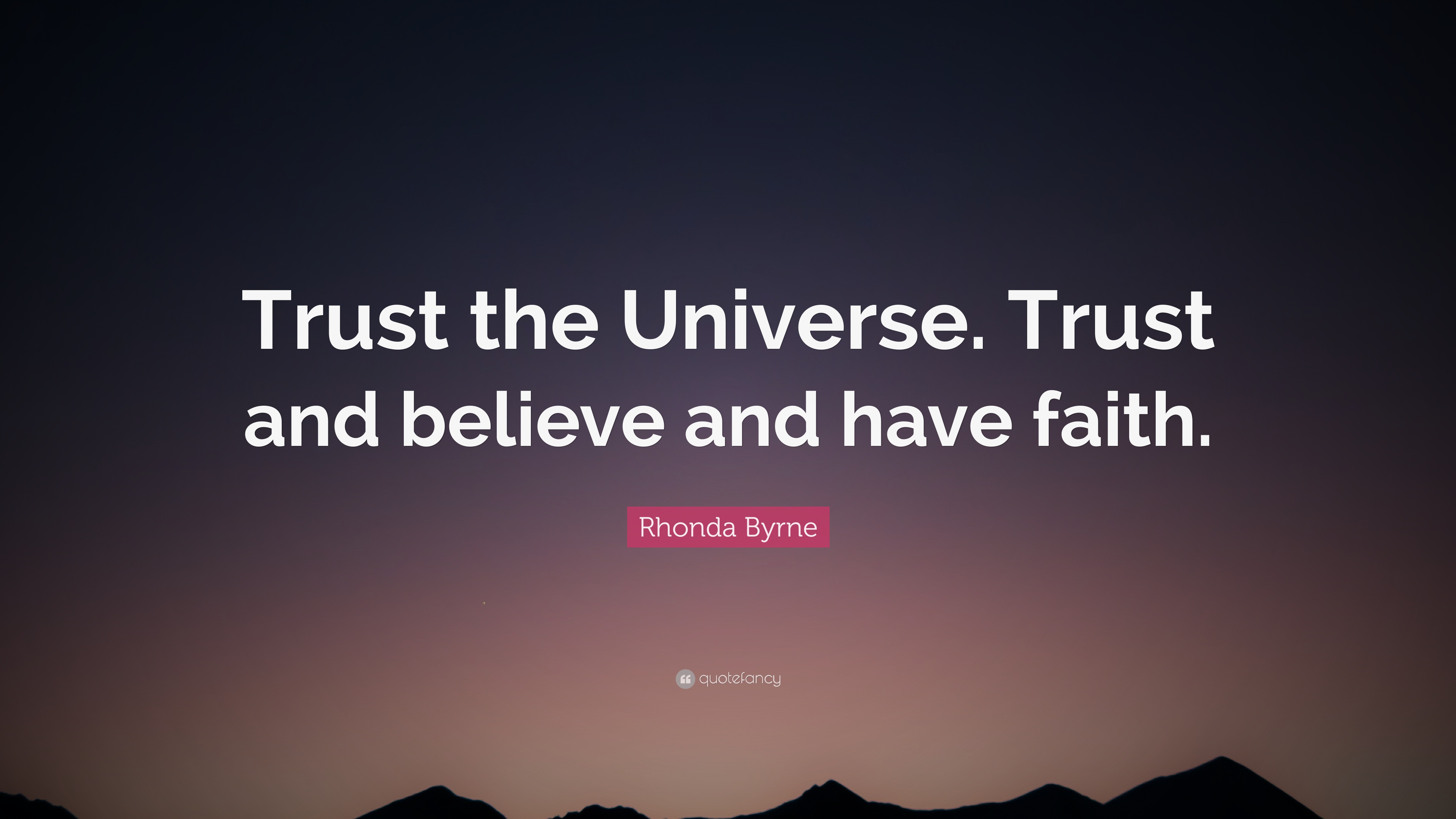 Conor Mcgregor Quote Wallpaper Rhonda Byrne Quote Trust The Universe Trust And Believe