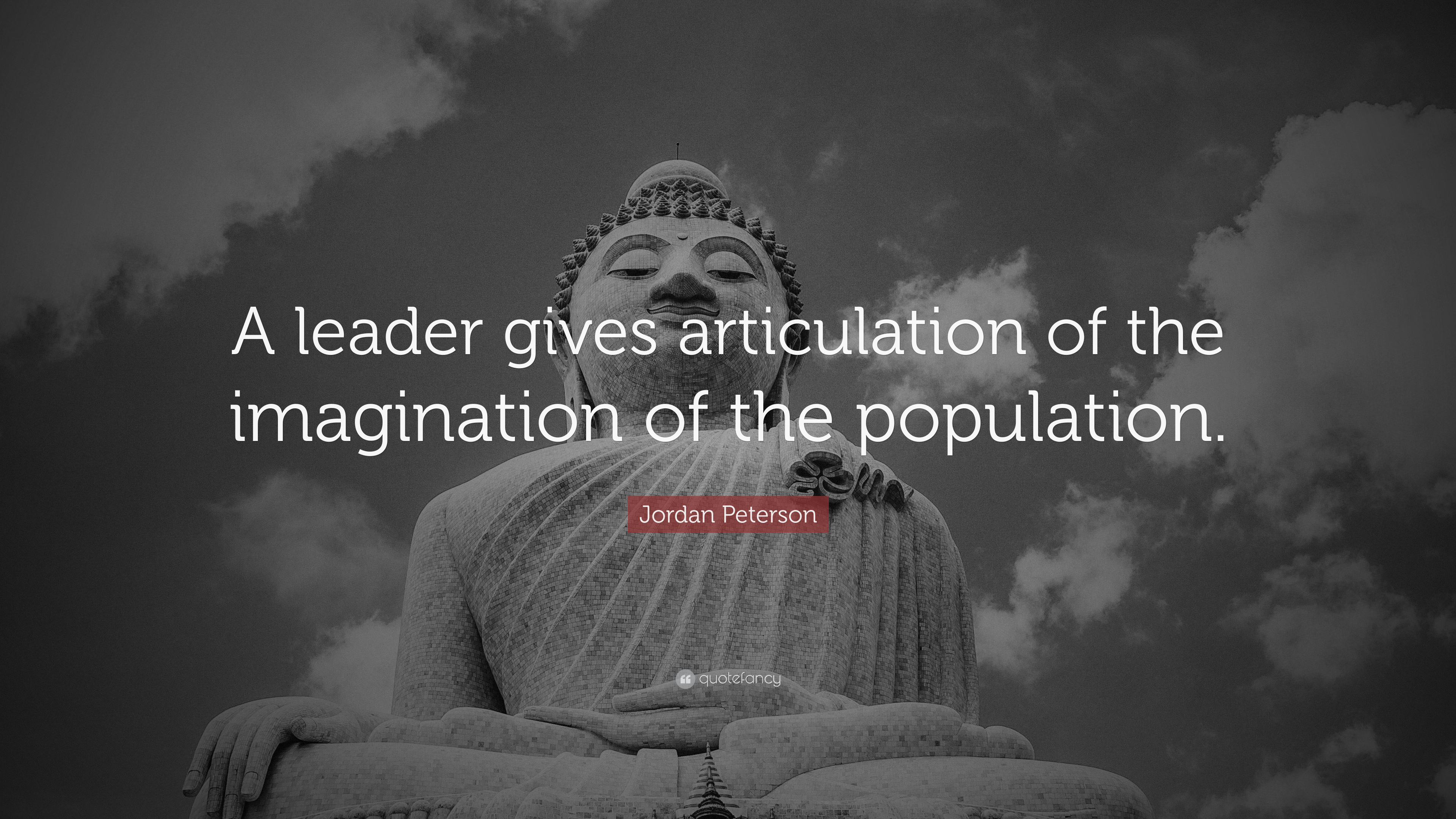 Inspiring Quotes With Wallpapers Jordan Peterson Quote A Leader Gives Articulation Of The