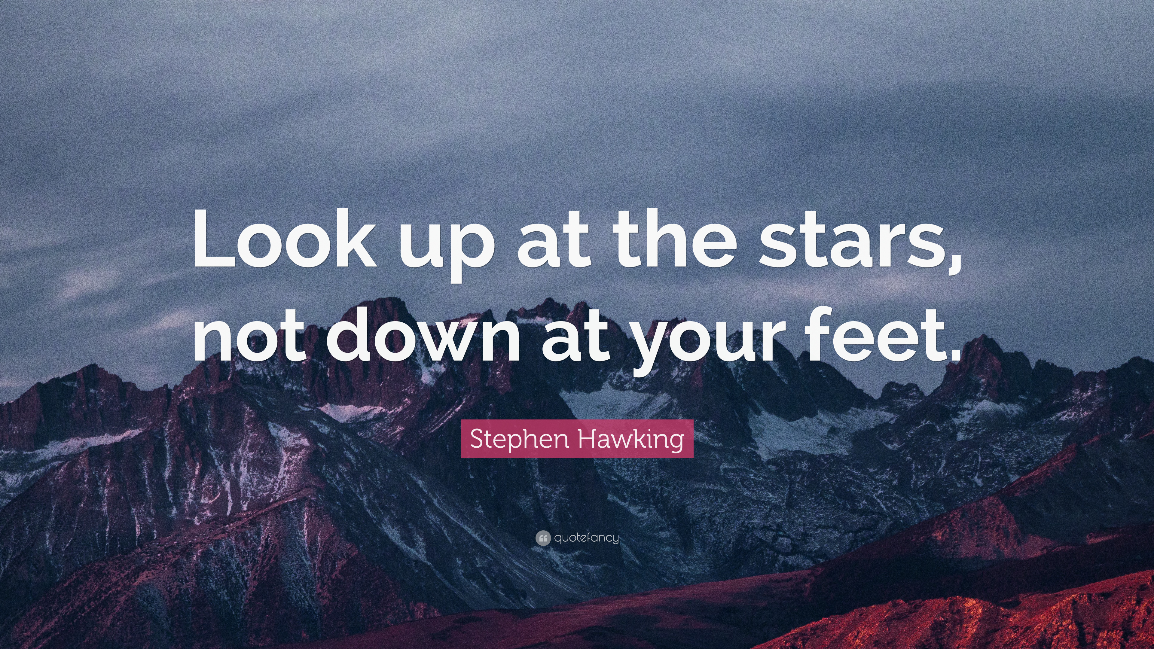 John Lennon Quotes Wallpaper Stephen Hawking Quote Look Up At The Stars Not Down At