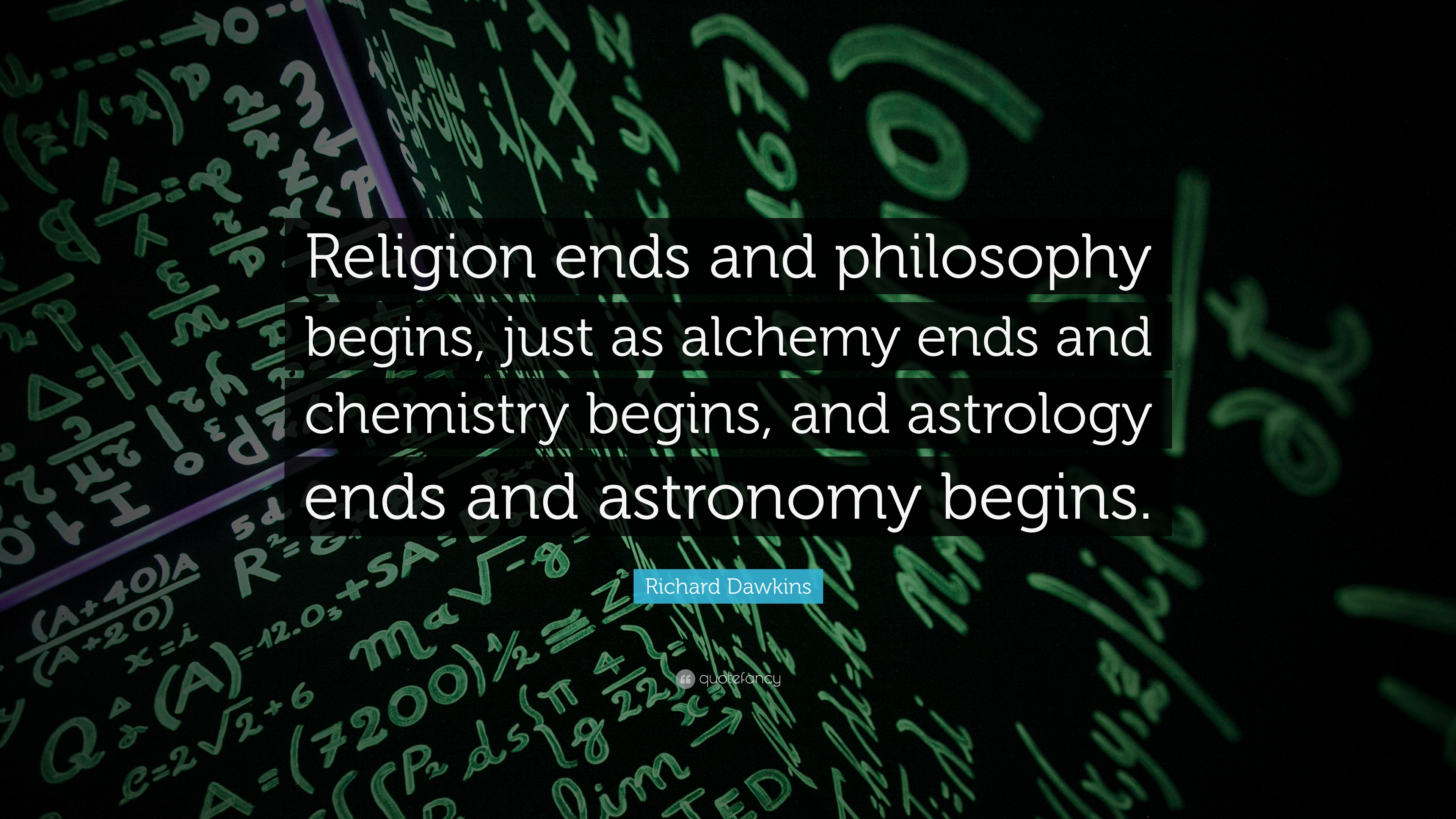 Motivational Quotes To Study Wallpaper Richard Dawkins Quote Religion Ends And Philosophy