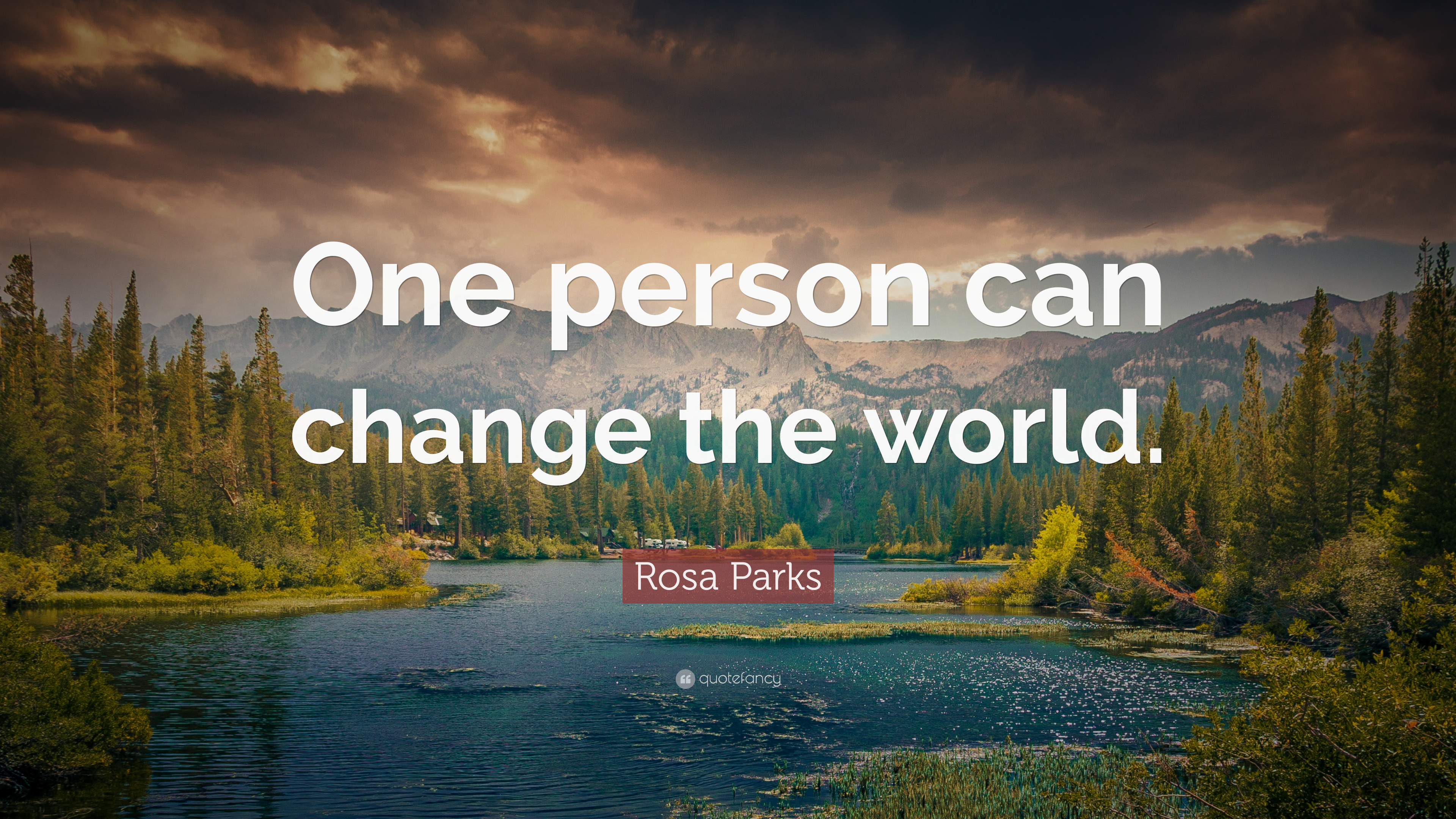 Motivational Sports Quotes Wallpaper Rosa Parks Quote One Person Can Change The World 12