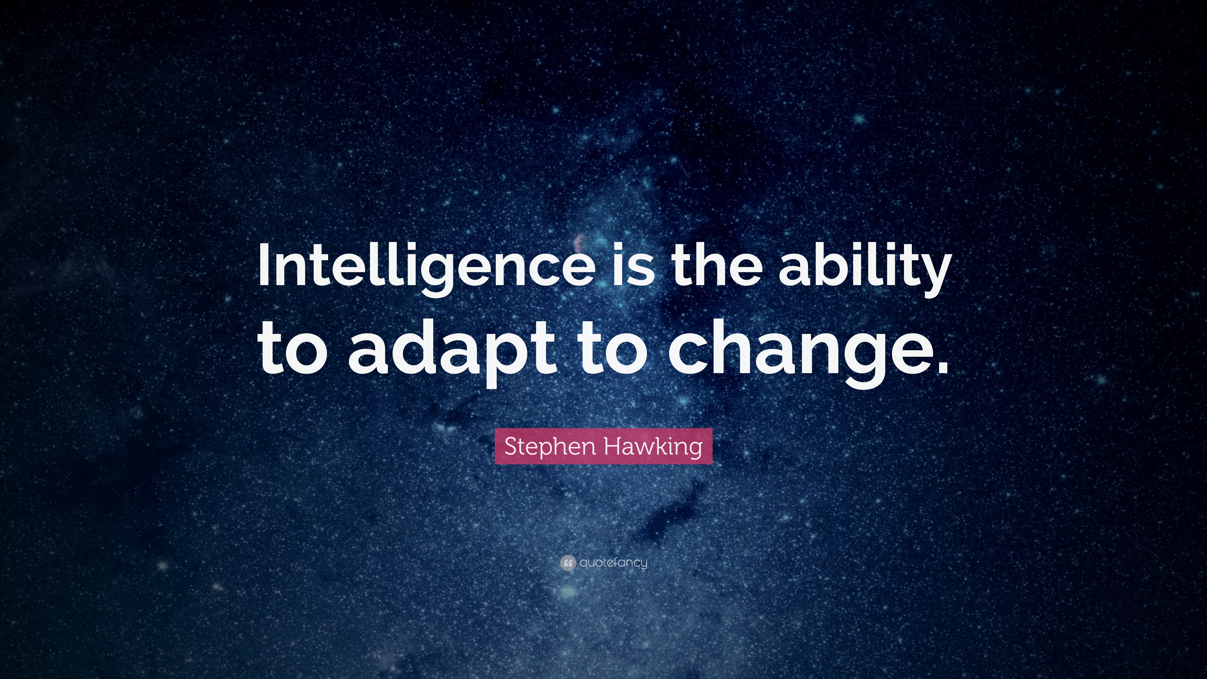 Friendship Love Wallpapers With Quotes Stephen Hawking Quote Intelligence Is The Ability To