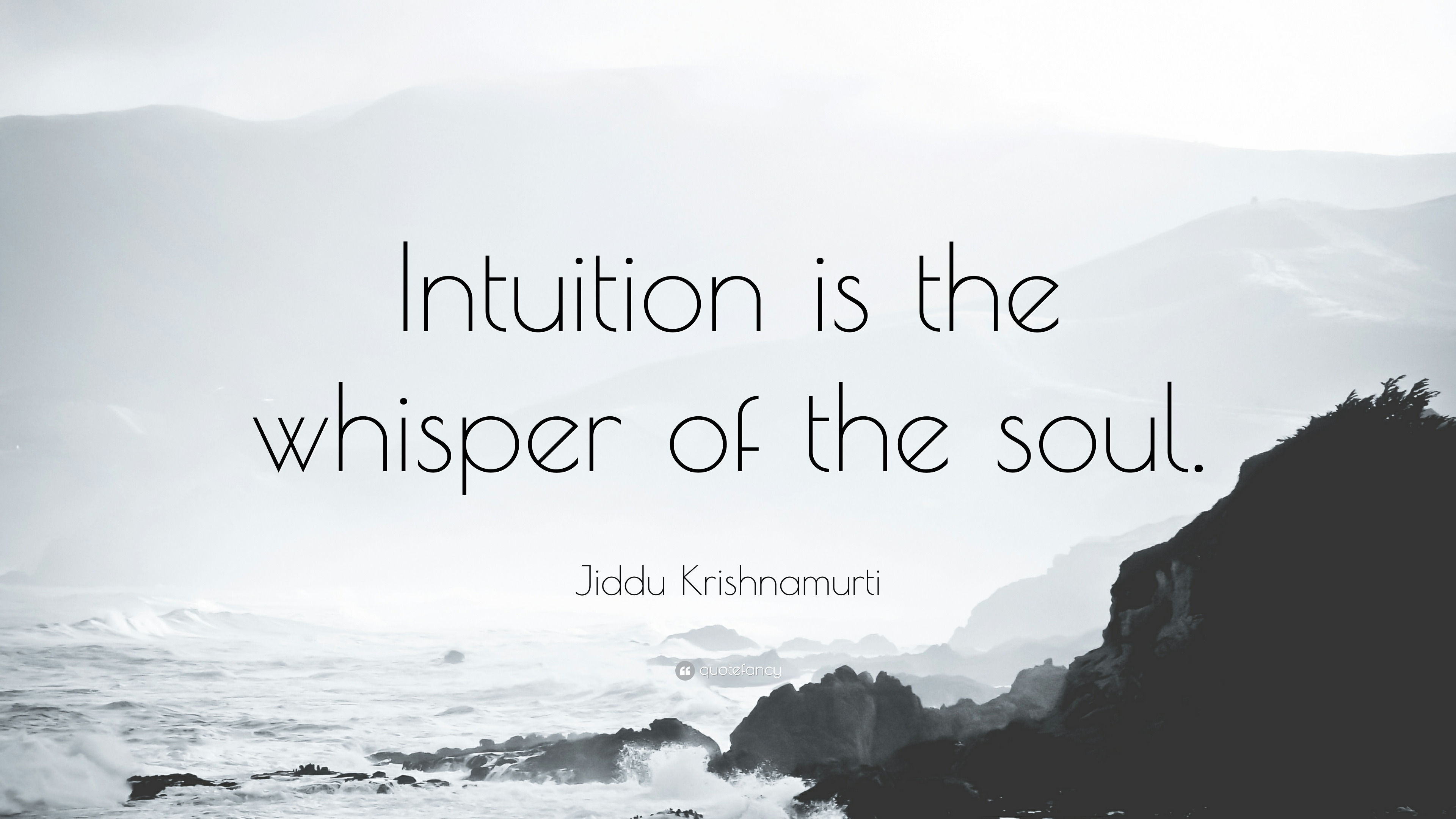 Kant Quotes Wallpaper Jiddu Krishnamurti Quote Intuition Is The Whisper Of The