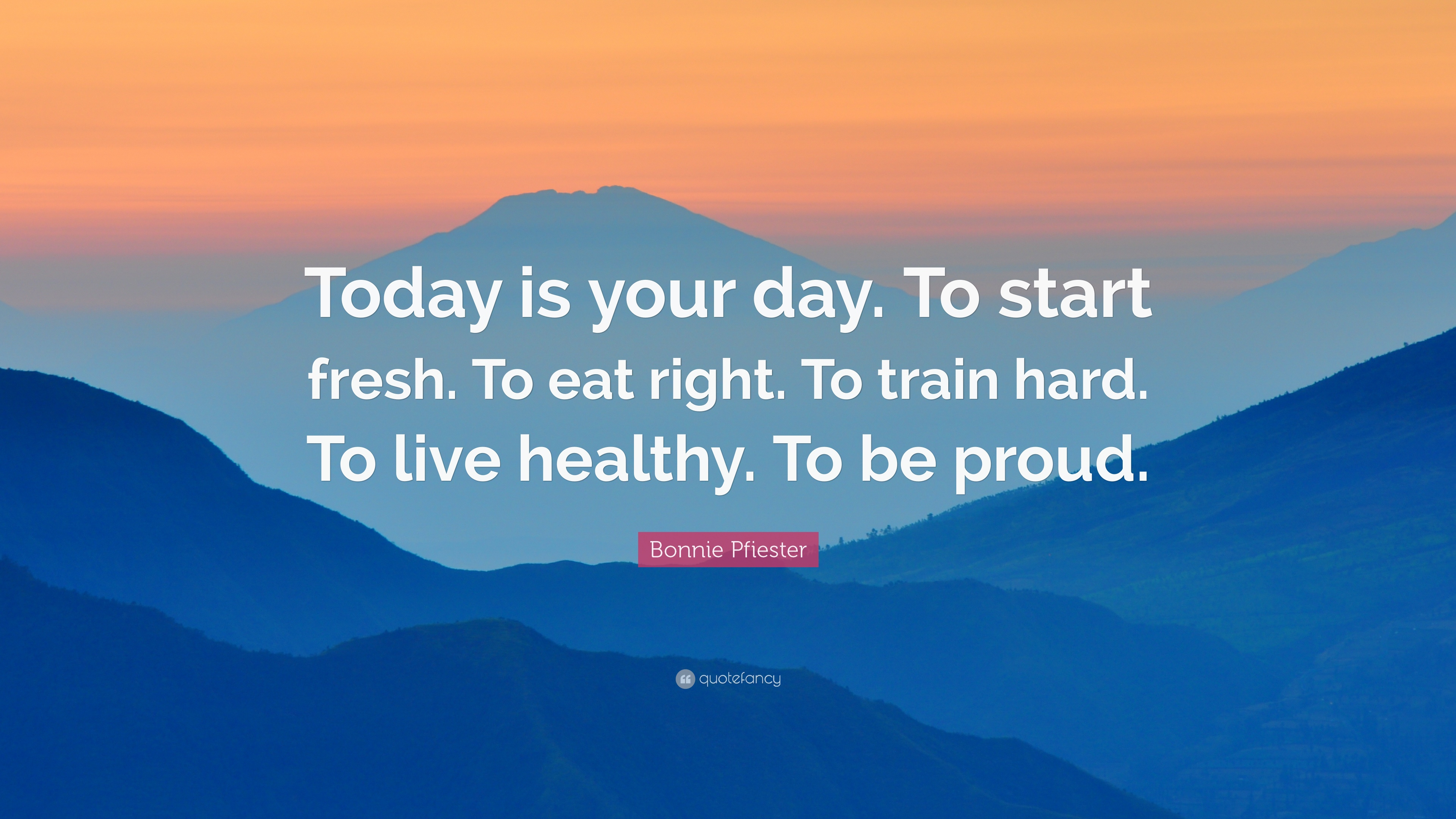 Casey Neistat Quotes Wallpaper Bonnie Pfiester Quote Today Is Your Day To Start Fresh