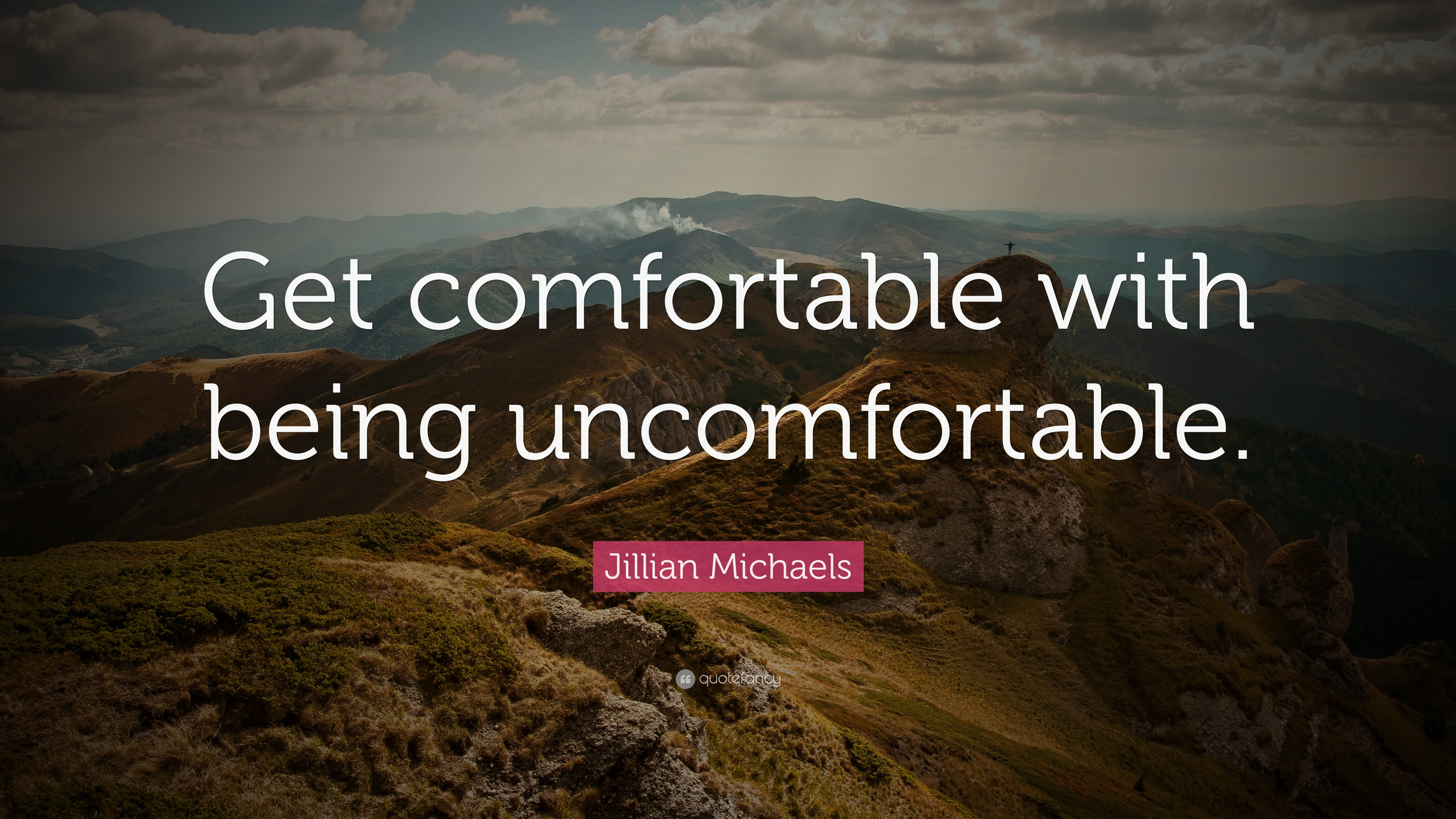 Conor Mcgregor Quote Wallpaper Jillian Michaels Quote Get Comfortable With Being