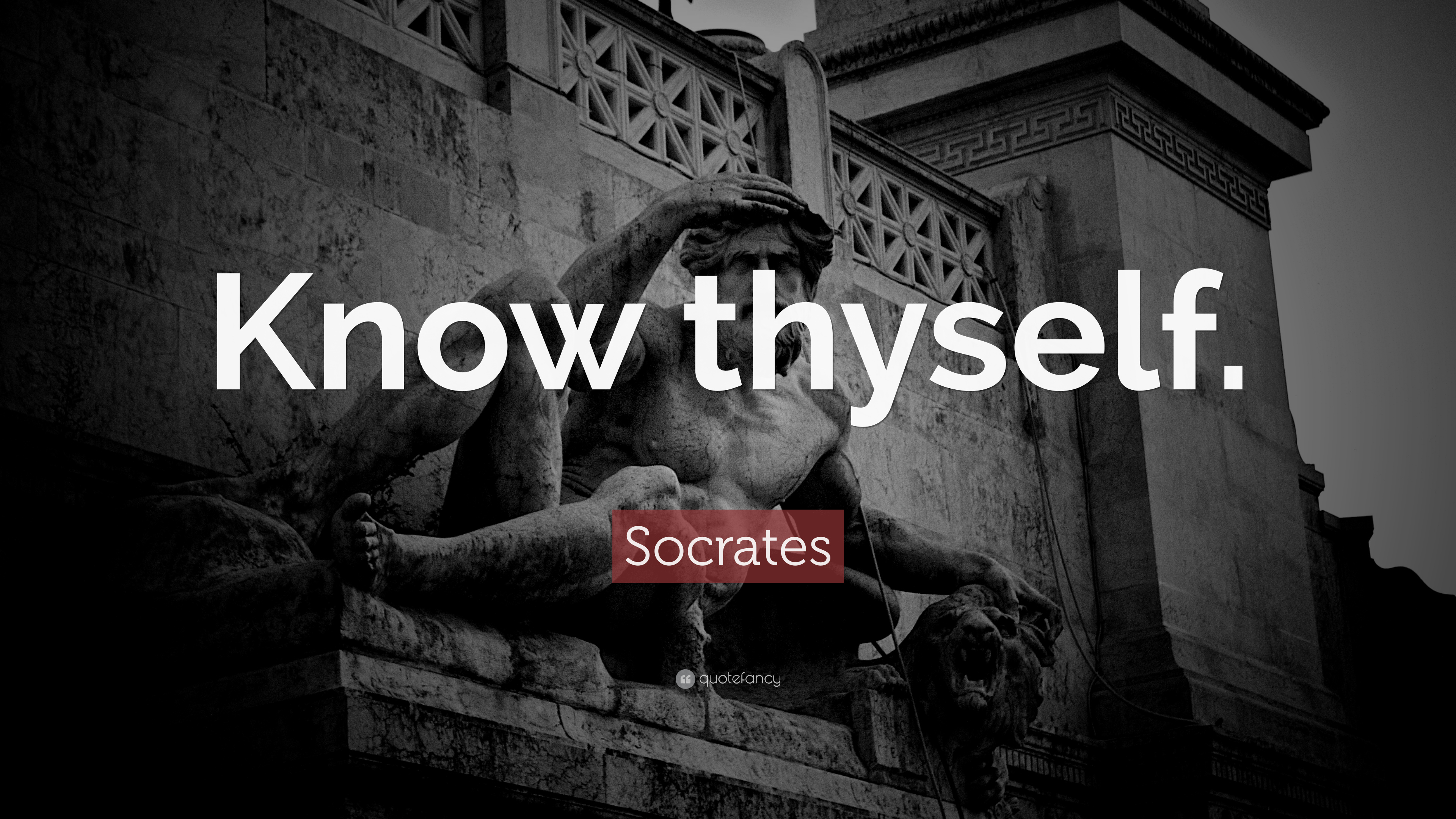 Socrates Wallpaper Quotes Socrates Quote Know Thyself 32 Wallpapers Quotefancy