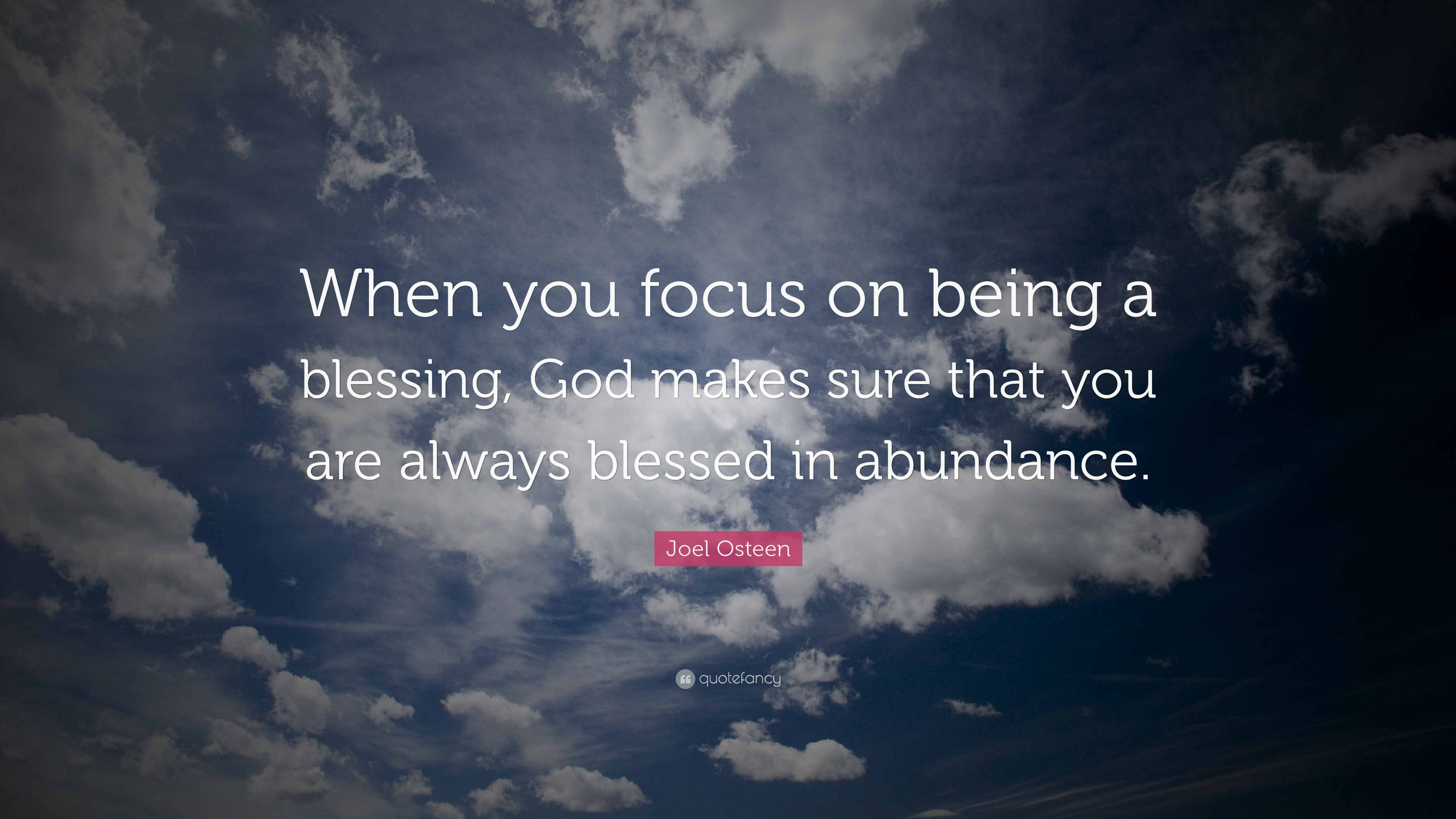Greg Plitt Quotes Wallpaper Joel Osteen Quote When You Focus On Being A Blessing