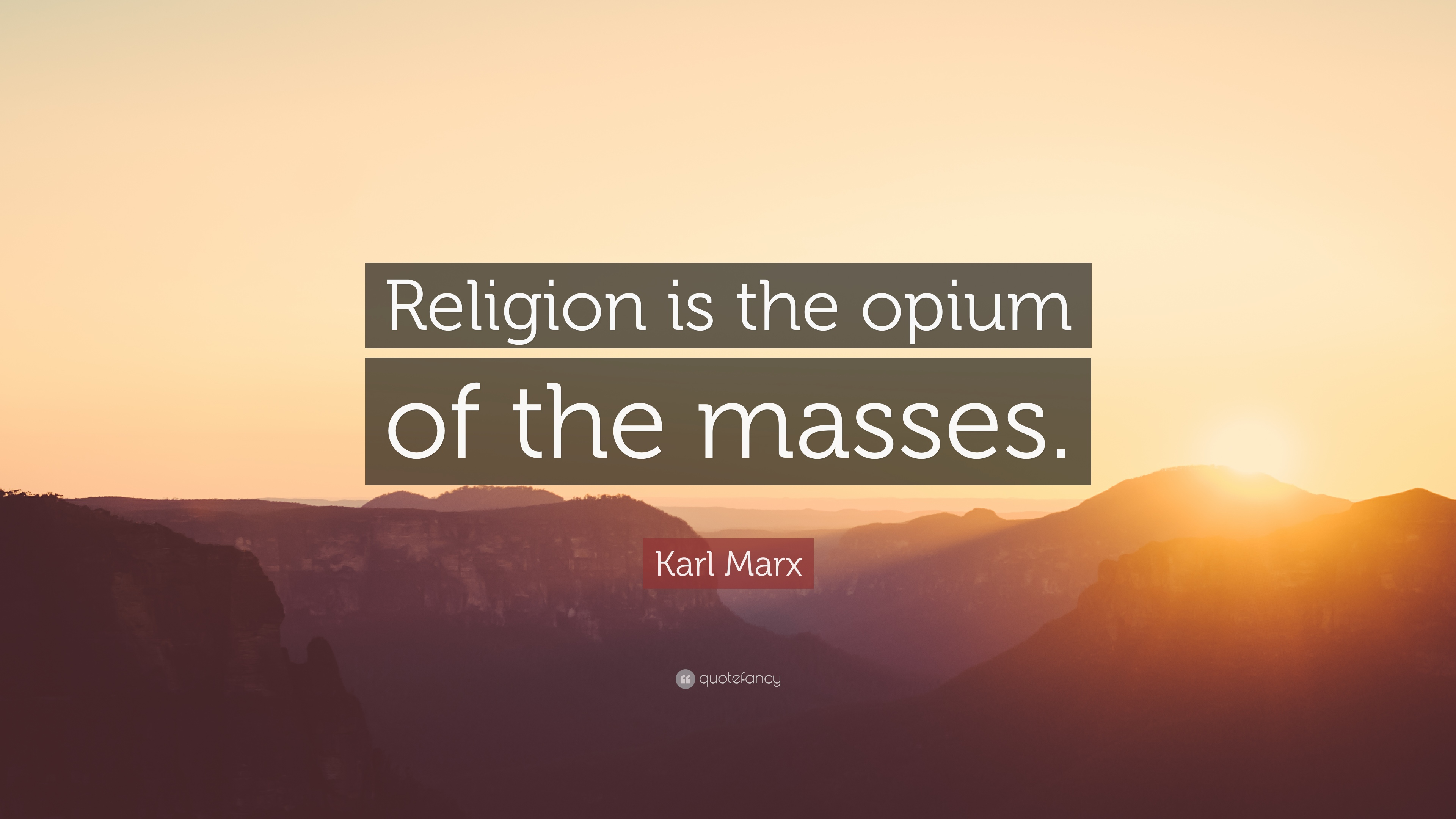 Sarcastic Wallpaper Quotes Karl Marx Quote Religion Is The Opium Of The Masses