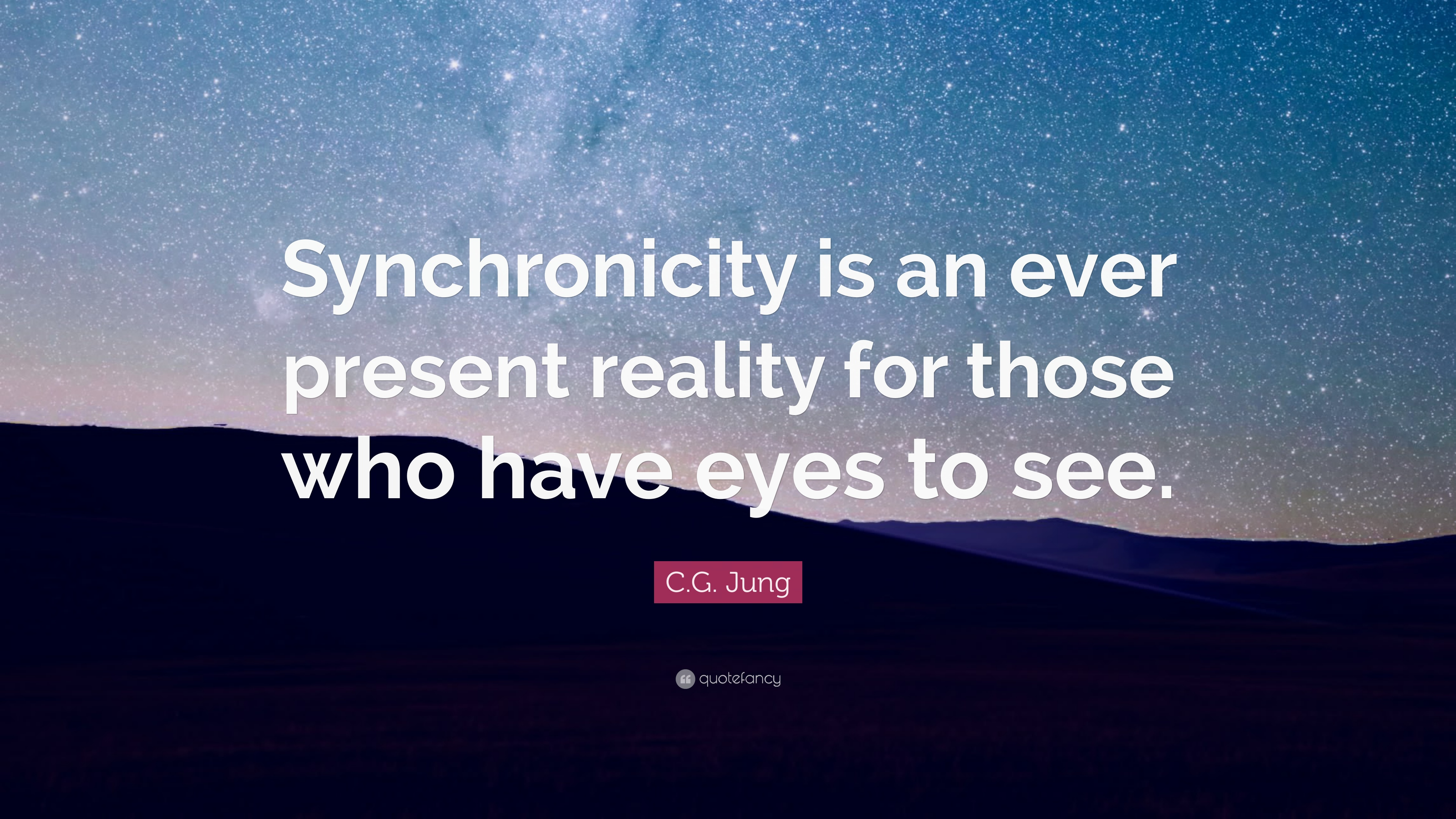Zen Quote Wallpaper C G Jung Quote Synchronicity Is An Ever Present Reality