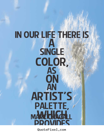 Really Cute Teal Teal Wallpaper Marc Chagall Picture Quotes In Our Life There Is A