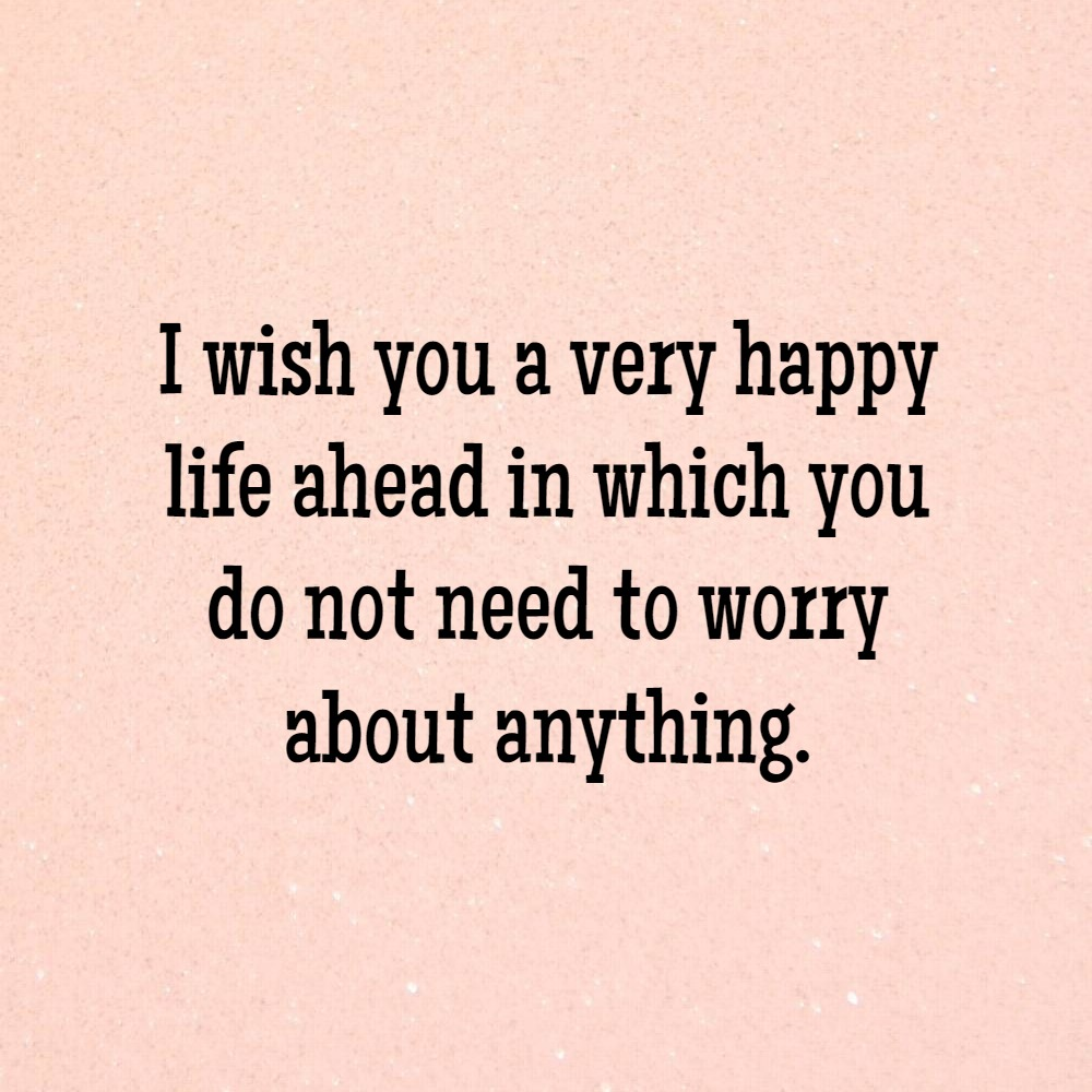 Fullsize Of Wishing You The Best