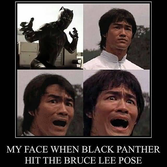 Cute Wallpapers Of Wofe Black Panther Meme Funny Image Photo Joke 04 Quotesbae
