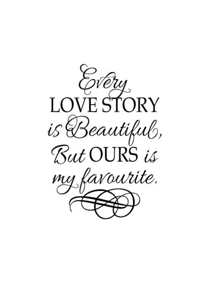 Quotes About Wedding : Romantic Sayings Vinyl - Vinyl wall ...