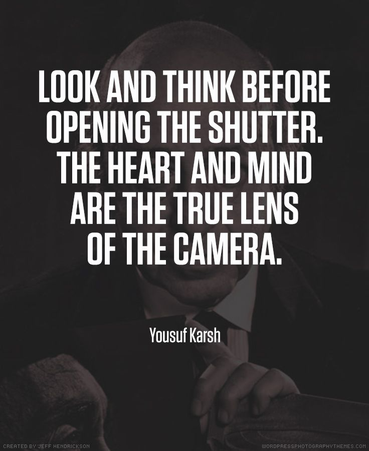 Photography Quotes Yousuf Karsh photographer quote #photography