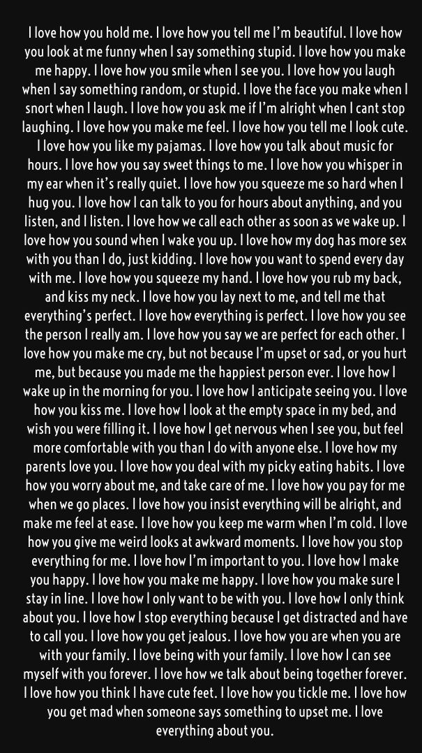 Best 25+ I love you quotes for boyfriend ideas on Pinterest - romantic love letter