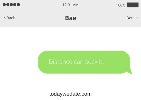 sweet text messages for long distance relationships