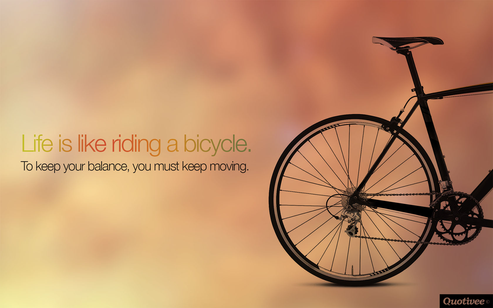 Mad Men Wallpaper Quote Life Is Like Riding A Bicycle Inspirational Quotes