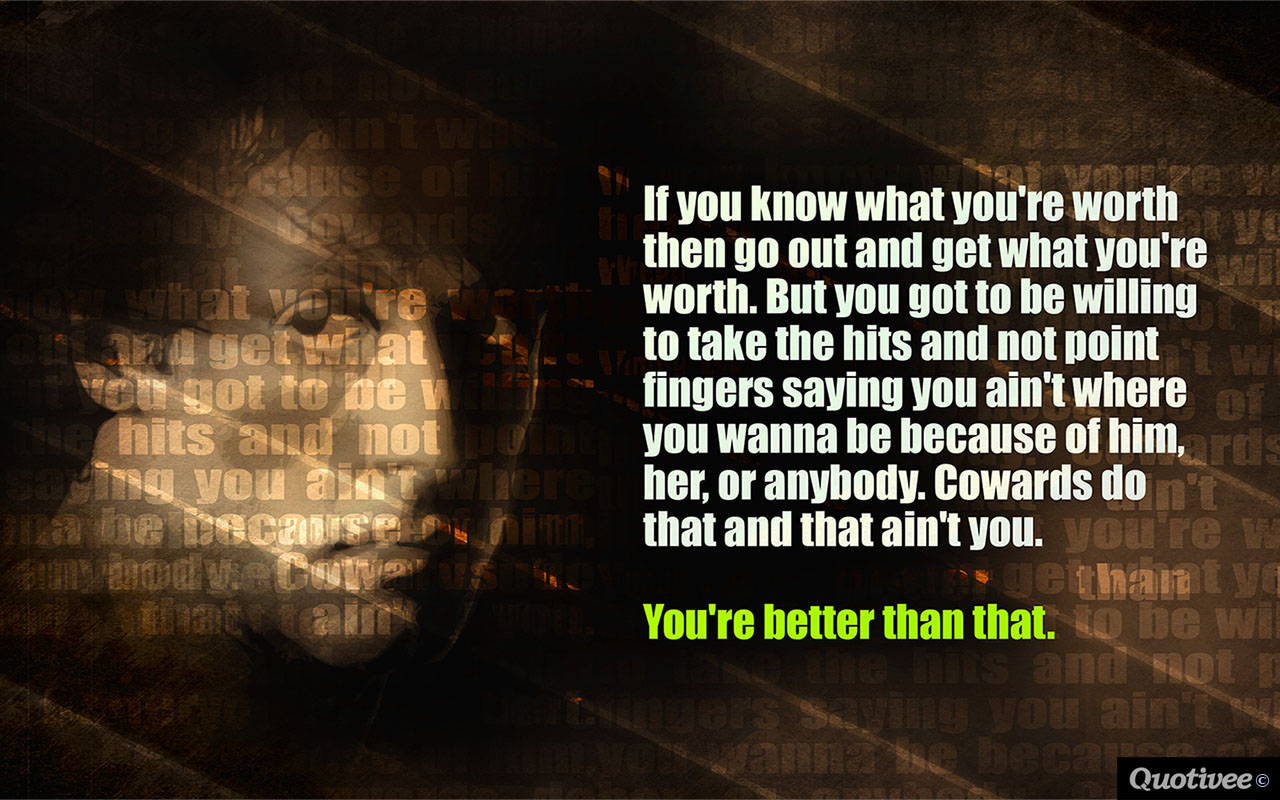 Mad Men Wallpaper Quote Quote By Rocky Balboa Inspirational Quotes Quotivee