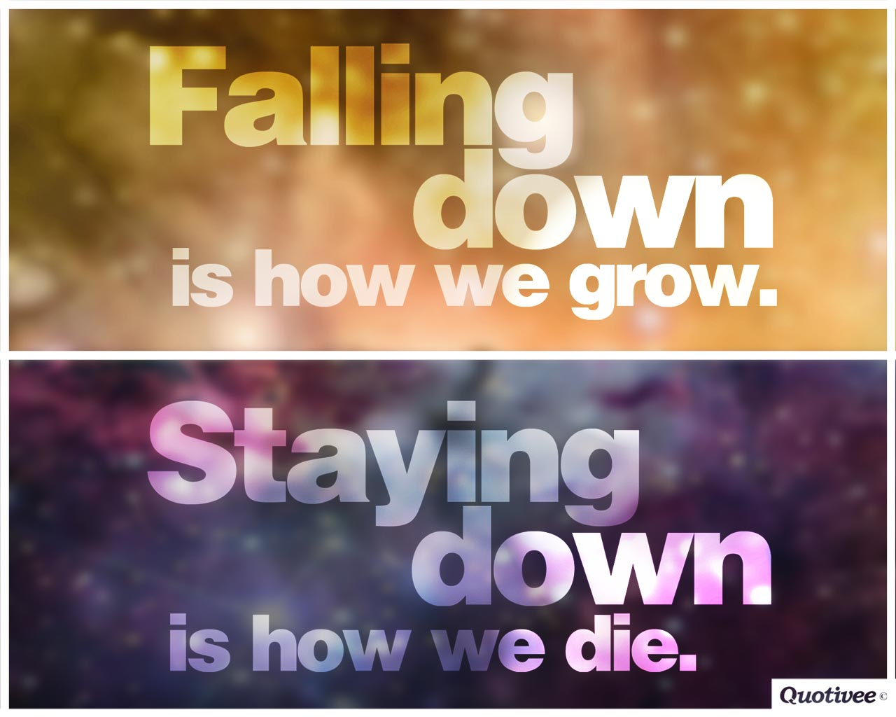 Passion Wallpaper Quote How We Grow And How We Die Inspirational Quotes Quotivee