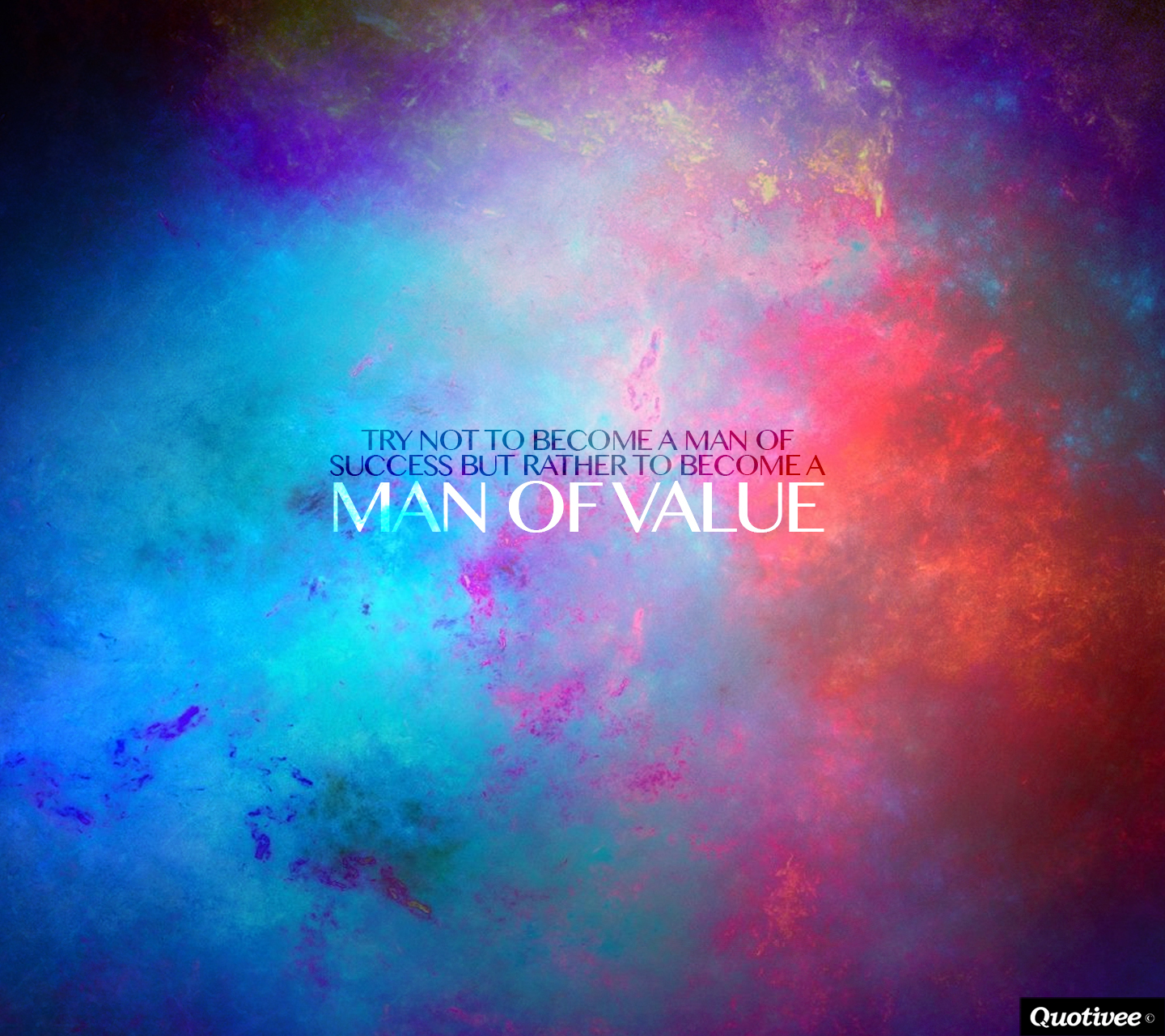 Impossible Quote Wallpaper Man Of Value Inspirational Quotes Quotivee