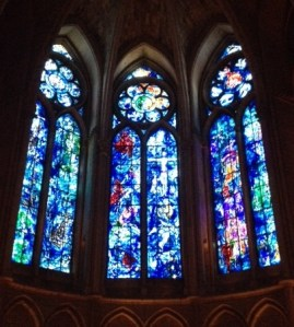 Chagall's stained glass