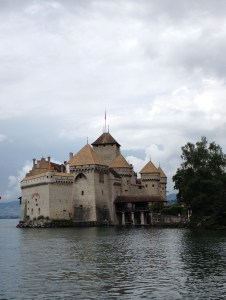 Château de Chillon - tourist view