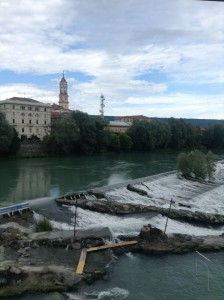 The view from the dormitory, Ivrea
