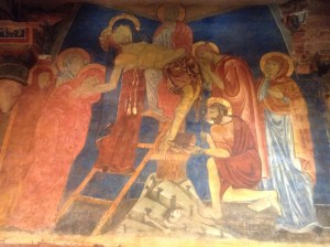 Duccio fresco of the Deposition