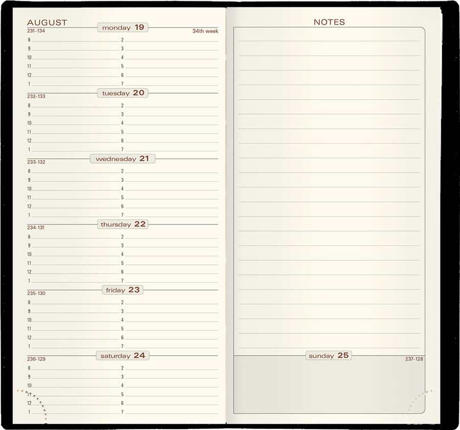 Search all Quo Vadis Planners Quo Vadis Journals  Agendas - multi year planner