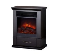 Barrington Vent Free Electric Fireplace w/ Caster Wheels ...