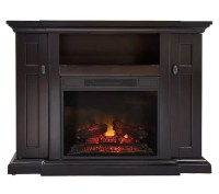 Voorhees Freestanding Vent Free Electric Fireplace - Page ...