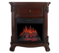 Strathmore Freestanding Vent Free Electric Fireplace ...