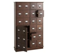 Apothecary-Inspired CD/DVD Storage Cabinet  QVC.com