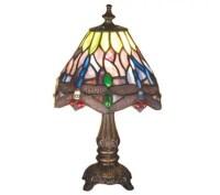 Meyda Tiffany Style Dragonfly Mini Lamp - Page 1  QVC.com