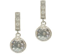 Judith Ripka Sterling Diamonique Earrings  QVC.com