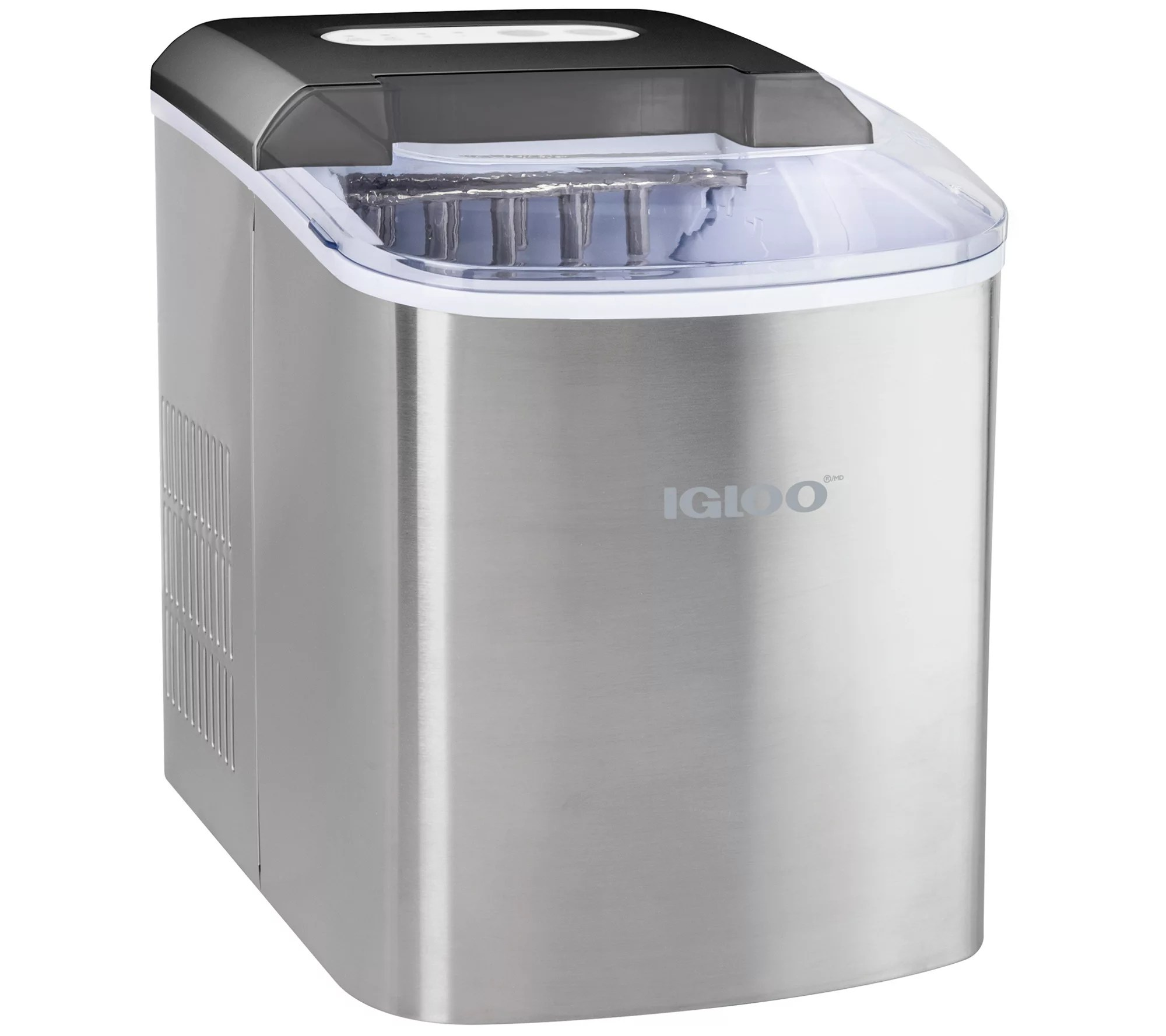 Igloo 26 Lb Automatic Countertop Portable Ice Maker Qvc Com