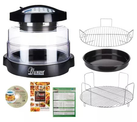 Nuwave Pro 8 In 1 Digital Oven With Extender Ring Rack