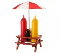 Prepology Picnic Table and Umbrella Condiment Set - Page 1 ...